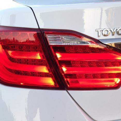 LED стопы Тюнинг BMW Stayle для Toyota Camry 50 2012-. ( Красные )