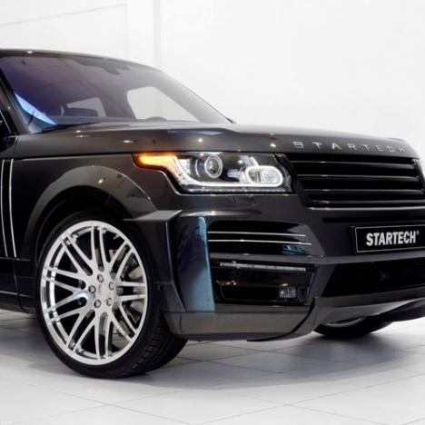 Обвес Startech на Land Rover Vogue с 2013г-