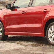 Пороги Volkswagen Polo Sedan 2010г. — н.в.