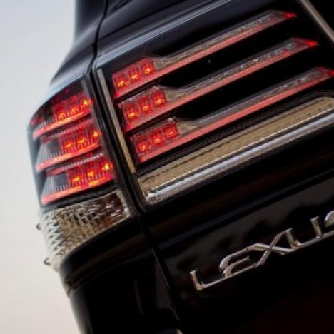 Фонари Lexus Lx-570 Supercharger